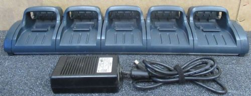 Vocollect CM-601-1 Five Bay Battery Charger For Talkman T2 & T2X With PSU